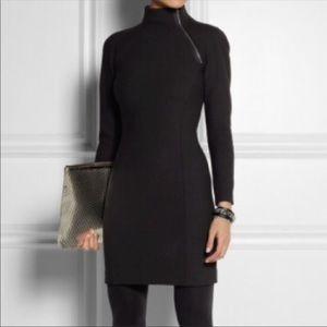 Theory zipper collar dress